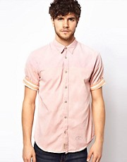 Scotch & Soda Shirt With Contrast Panels