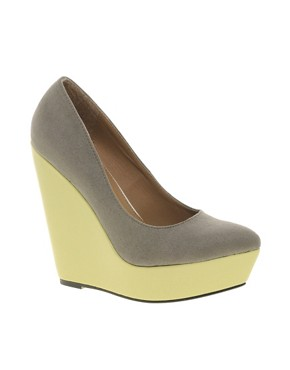 Image 1 of ASOS PARAMOUNT Pointed Wedges