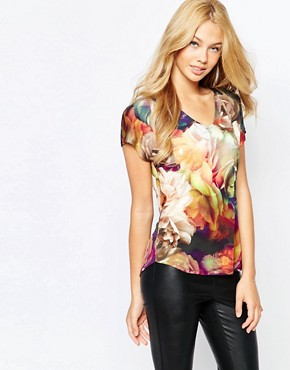 Ted Baker Zooie Technicolour Bloom T-Shirt