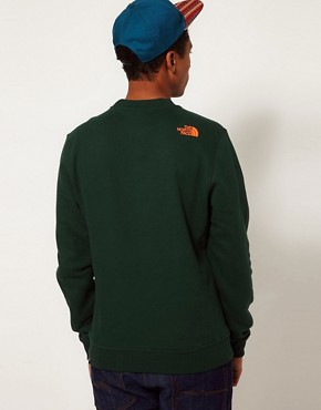 Image 2 ofThe North Face Logo Crew Neck Sweatshirt