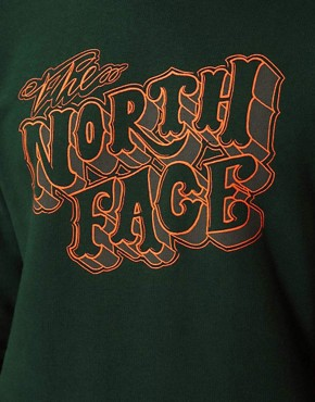 Image 3 ofThe North Face Logo Crew Neck Sweatshirt
