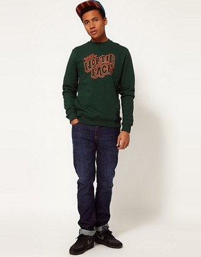 Image 4 ofThe North Face Logo Crew Neck Sweatshirt