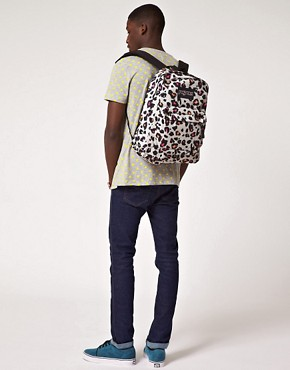 Image 3 ofJansport Superbreak Backpack with Cheetah Print