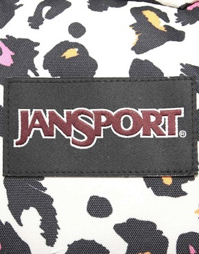 Image 4 ofJansport Superbreak Backpack with Cheetah Print