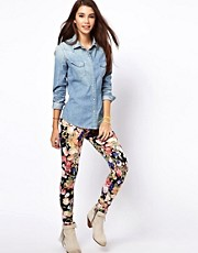 Only - Leggings a fiori