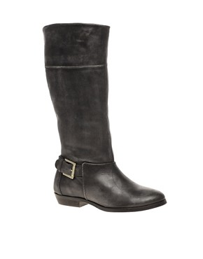Image 1 ofTed Baker Bronko Leather Flat Boot