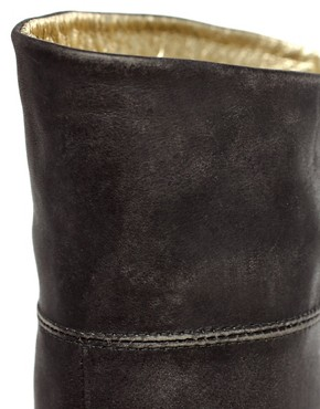 Image 3 ofTed Baker Bronko Leather Flat Boot