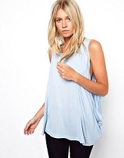 ASOS Vest with Extreme Drop Arm Hole