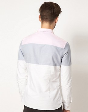 Image 2 ofASOS Oxford Stripe Shirt