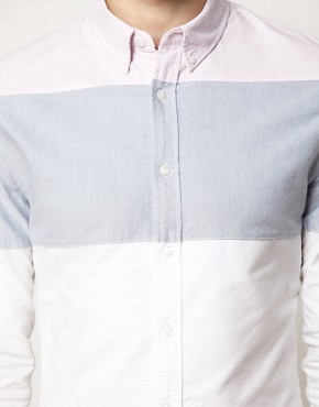 Image 3 ofASOS Oxford Stripe Shirt