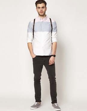 Image 4 ofASOS Oxford Stripe Shirt