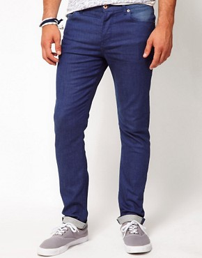 Image 1 ofASOS Skinny Jeans In Blue