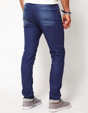 Image 2 ofASOS Skinny Jeans In Blue
