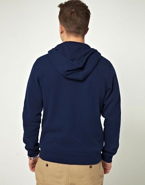 Image 2 ofAdidas Originals Zip Through Hooded Sweat with Trefoil Logo