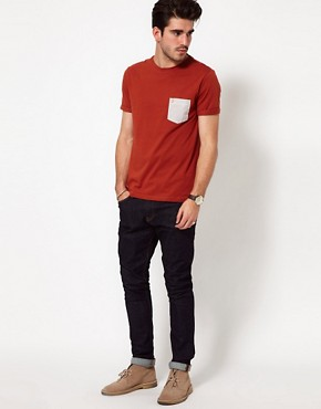 Image 4 ofFarah Vintage T-Shirt with Contrast Pocket