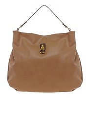 ASOS Hobo Bag With Front Padlock