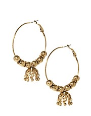ASOS Hoop &amp; Bell Earring