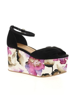 Image 1 ofASOS VIPER Flatform High Sandals