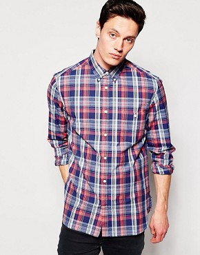 French Connection Washed Check Shirt