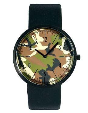 Image 1 ofASOS Contrast Round Face Watch