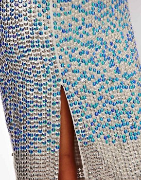 Image 3 ofASOS Pencil Skirt in Hologram Sequin