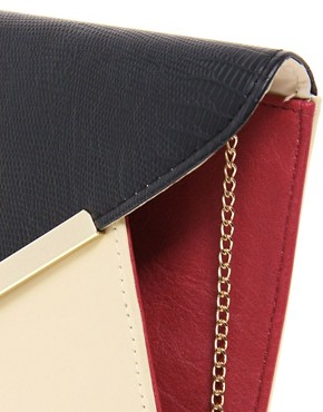 Image 4 ofNew Look Parker Envelope Clutch