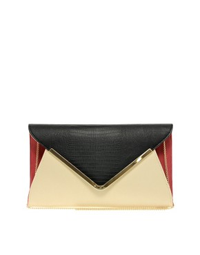 Image 1 ofNew Look Parker Envelope Clutch