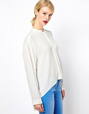 See by Chloe High Low Shirt