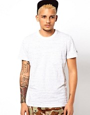Adidas Originals T-Shirt with Marl Stripe