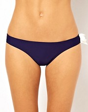 ASOS Contrast Bow Hipster Bikini Pant