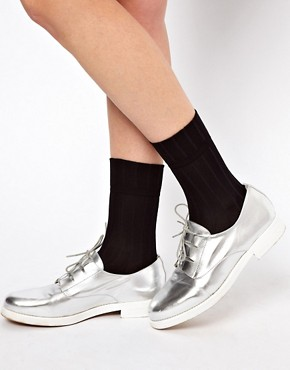 Image 1 ofASOS Slinky Ankle Socks