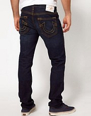 True Religion Jeans Rocco Slim Fit Retribution Wash