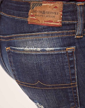 Image 3 of Denim & Supply By Ralph Lauren Bell Dark Wash Flared Jeans