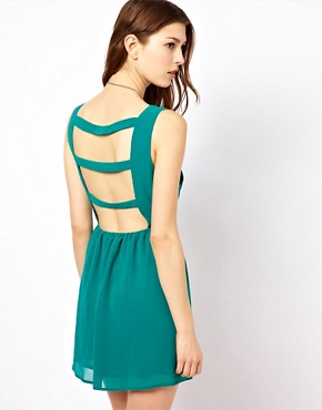 Image 1 ofGlamorous Open Back Dress