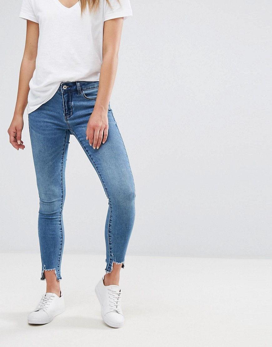 Only raw hem denim jean - Denim
