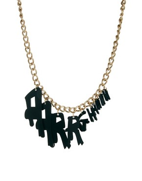 Image 1 of Tatty Devine Aarrghhhh Necklace