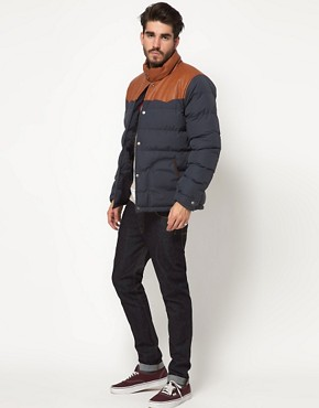 Image 4 of ASOS Quilted Jacket