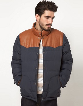 Image 1 of ASOS Quilted Jacket