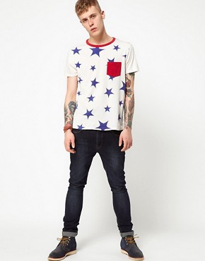Image 4 ofLevi&#39;s Vintage T-Shirt Star Print