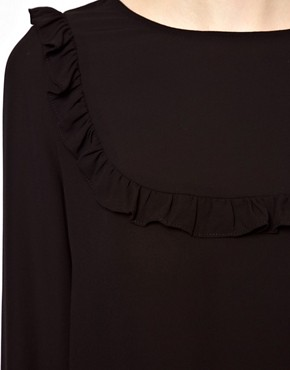 Image 3 ofBA&amp;SH Top with Frilled Bib Detail