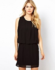 Vila Drape Top Dress