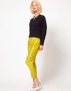 Image 1 ofASOS Evening Peg Trousers