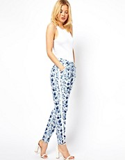 ASOS Pants in Soft Floral Print