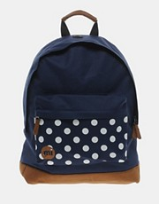 Mi Pac Spot Print Backpack