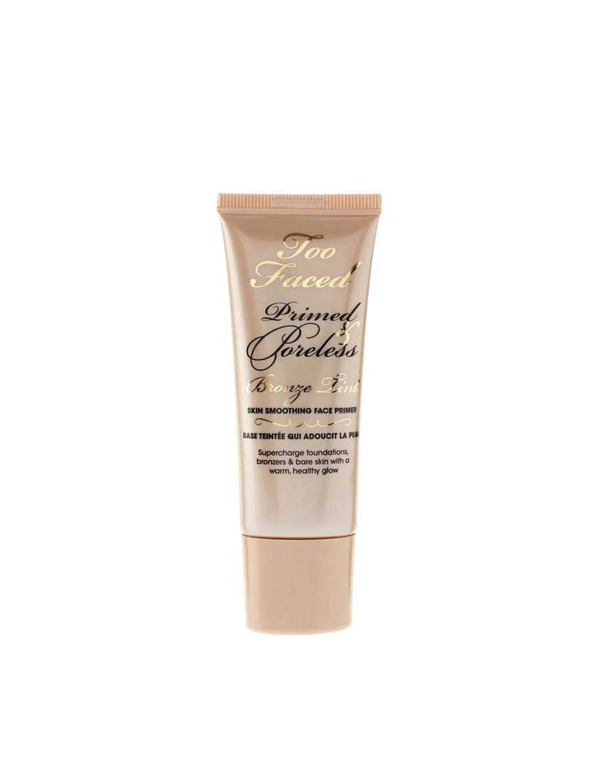 Too Faced Primed Poreless Teinte bronze