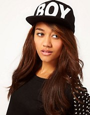 BOY London Boy Snapback Black Cap
