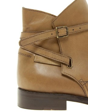 Image 2 ofASOS ALTITUDE Leather Jodhpur Ankle Boots