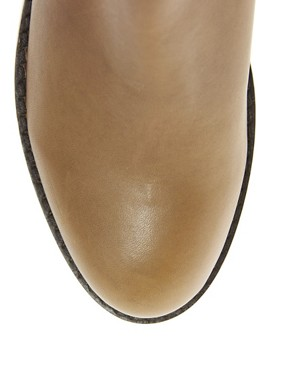 Image 4 ofASOS ALTITUDE Leather Jodhpur Ankle Boots