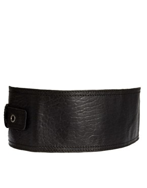 Image 2 ofUrban Code Wide Buckle Belt