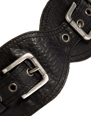 Image 3 ofUrban Code Wide Buckle Belt